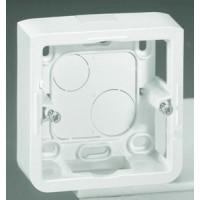 Коробка для накладного монтажа 2модуля глубина 30 мм, белый Mosaic