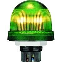 Сигнальная лампа-маячок KSB-401G зеленая постоянного свечения 12 -230В АС/DC