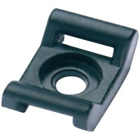 Основание 22,5х14,6 мм из полиамида 6.6 под хомут 9,0 мм чёрный