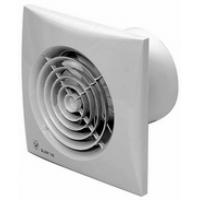 Вентилятор осевой 185 куб.м/час 16 Вт 230 В для настен.и потолоч.монтажа (диам.шахты 118 мм) обрат.клапан IP44 серия Silent