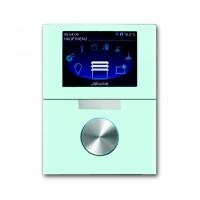 Цветной TFT-дисплей 8,89см с поворотным элементом управления белое стекло (6344-810-101-500)
