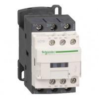 Контактор 12А 3Р 1НО+1НЗ катушка 110В DС соединение с помощью наконечников или шин, D