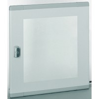 Дверь стеклянная плоская для шкафа XL3 400 высотой 600мм