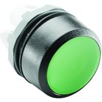 Кнопка зеленая (только корпус) без подсветки без фиксаци тип MP1-10G