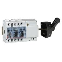 Выключатель-разъединитель 3-пол. 160А боковое управление, черная ручка, Vistop