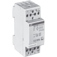Контактор модульный 24А кат. 220В 4НЗ тип ESB24-04