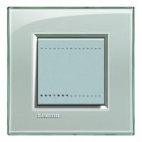 Рамка 2 модуля серое небо Living Light (Bticino)