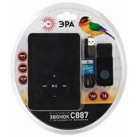 Звонок электронный ЭРА C887 MP3 + 16 мелодий беспроводной