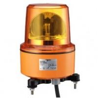 Проблесковый маячок красный 130мм с вращающимся зеркалом под суперяркий LED 230В AC