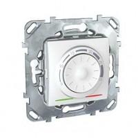 Термостат электронный 8А от+5 до +30 С белый Unica