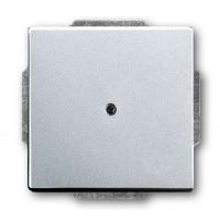 Центральная плата для вывода кабеля  серебристо-алюминевый solo/future