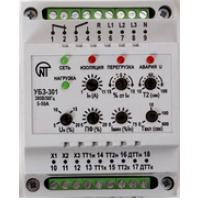 Реле защиты электродвигателя многофункц. 5-50А тип УБЗ-301М