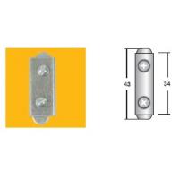 Соединение прямое UNI-I*R никель (серии BS)