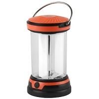 Фонарь-светодиод, кемпинг,6-светодиодов, 3хАА черный/оранж.