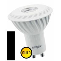 Лампа светодиодная 3 Вт 230В GU10 d=51mm, тёплый белый 94 256
