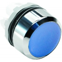 Кнопка синяя без подсветки без фиксации  ( только корпус ) тип MP1-20L