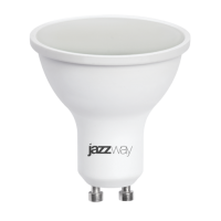 Лампа светодиодная 5,5 Вт 230В GU10 d=51mm, пластик, холодный белый
