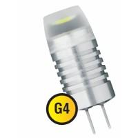 Лампа светодиодная 1,5 Вт 12В G4 капсульная, тёплый 3000К 94 398
