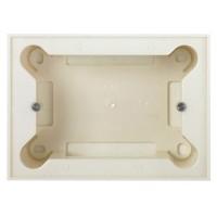 Коробка для накладного монтажа 3 модуля белый Zenit