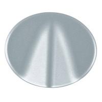 Накладка для выключателя со шнурком/вывода кабеля серебро Tacto