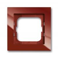 Рамка 1 пост цвет foyer красный Axcent