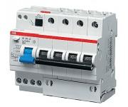 Автомат. выкл. дифф. тока 4-пол. 25А 30мА тип AC 6 кА хар-ка C серия DS200 АС С