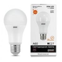 Лампа gauss E27 150Вт 2700K