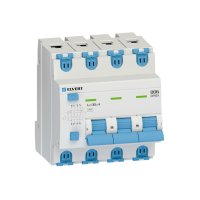 Автоматический выключатель дифф.тока D06 4р C40 30 мА электрон. тип АС ELVERT