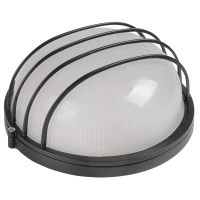 Светильник НПП1106 белый/круг сетка 100Вт IP54 ИЭК