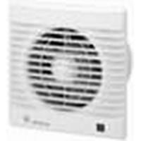 Вентилятор осевой   95 куб.м/час 13 Вт 230 В для настен.и потол.монтажа(диам.шахты 98 мм)обрат.клапан дат.влаж. IP44 серия Decor