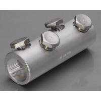 4СБЕ-70/120 Соединитель болтовой алюминиевый 70-120 кв.мм. болты под уголм