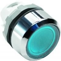 Кнопка синяя с подсветкой без фиксации ( только корпус) тип MP1-21L