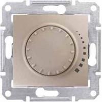 Светорегулятор проходной 60-500 Вт титан  Sedna