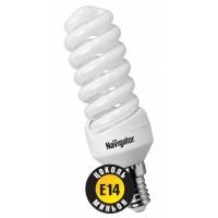 Лампа энергосберегающая 9 Вт Е14 2700К тонкая спираль тёплый 94 040