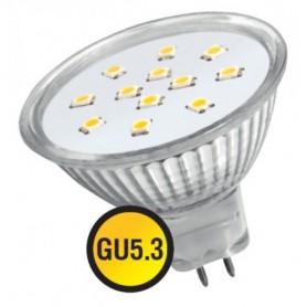 Лампа светодиодная 3 Вт 230В GU5.3 d=51mm, белый 94 127