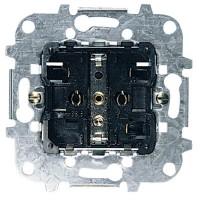 Механизм розетки 2Р+Е со шторками и безвинтовыми клеммами 16А 250В