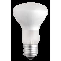 Лампа нак. 60 Вт, 220В, Е27, зеркальная 63mm, матовая