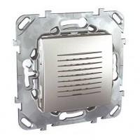 Звонок дверной 70db/1m алюминий Unica Top