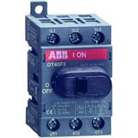 Рубильник 40А 3-пол. OT40F3 для установки на DIN-рейку или монтажную плату (1SCA135426R1001)