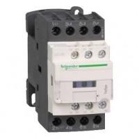 Контактор 25А 4P (АС1) 1НО+1НЗ катушка 110В DС, с ограничителем перенапряжений, D
