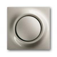 Клавиша для выключателя/переключателя 1 клавишного с подсветкой шампань-металлик Impuls