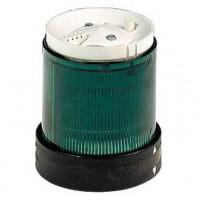 Сегмент световой колонны постоянного свечения зелёный 70мм со встроенной LED подсветкой 230В AC