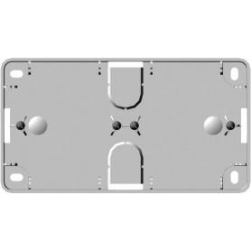 Коробка накладного монтажа 2 поста белый Wessen59