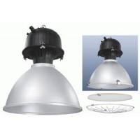 Светильник  подвесной для  ДРИ 150 Вт  E40 со стеклом, рассеиватель алюминевый  IP 54