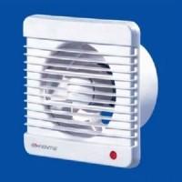 Вентилятор осевой 185 куб.м/час 16 Вт 220 В для настен. и потолоч. монтажа (диам.шахты 125мм) с таймером серия  M