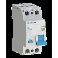 Устройство защитного отключения R10 2P 50А 30мА AC электрон. ELVERT