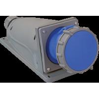 Розетка стационарная ССИ-133 63А-6ч/200-250В 2Р+РЕ IP67 MAGNUM ИЭК