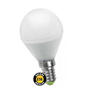 Лампа светодиодная 5 Вт 230В Е14 шарик, холодный белый 94 478