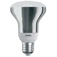 Лампа энергосберегающая 15 Вт Е27 4200К рефлектор R80, холодный