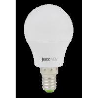 Лампа светодиодная 3 Вт 230В Е14 шарик, холодный белый